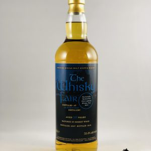 The Whisky Fair 10 Jahre Alkohol 53,4%