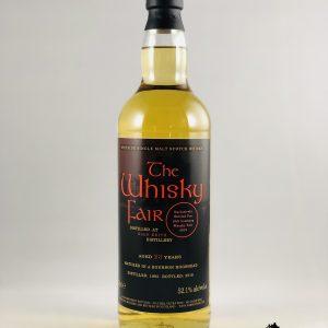 The Whisky Fair 23 Jahre 52,1% Alkohol