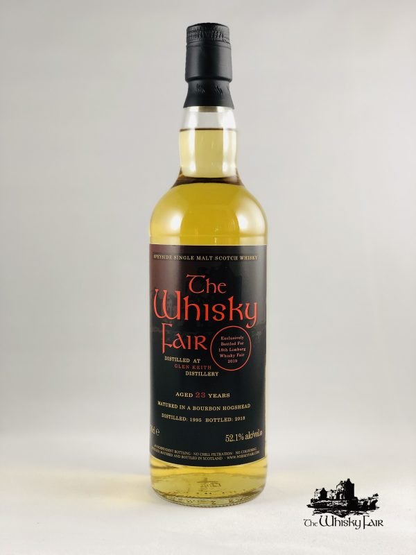 The Whisky Fair 23 Jahre 52,1% Alkohol