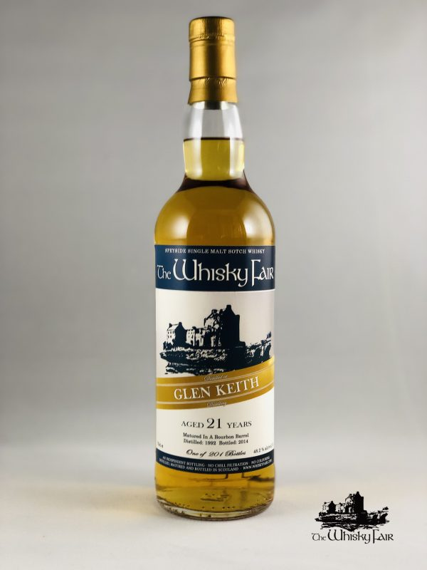 The Whisky Fair Glen Keith 21 Jahre 48,2% Alkohol