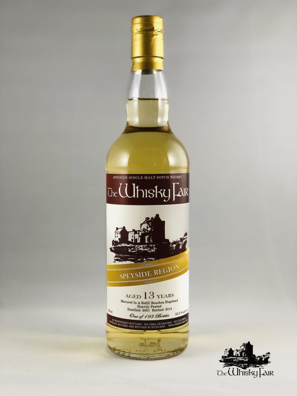 The Whisky Fair Speyside 13 Jahre 53,2% Alkohol