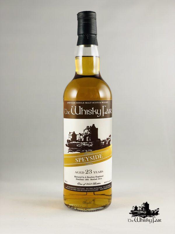 The Whisky Fair Speyside 23 Jahre 48,8% Alkohol
