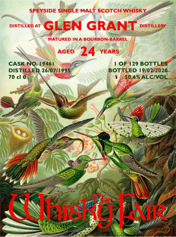 The Whisky Fair Glen Grant 24 Jahre 50,6% Alkohol 2020